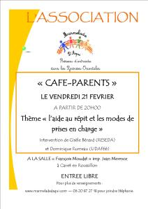café parent fev 14