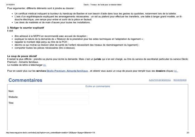 Declic - Travaux _ de l'aide pour un dossier béton-page-1